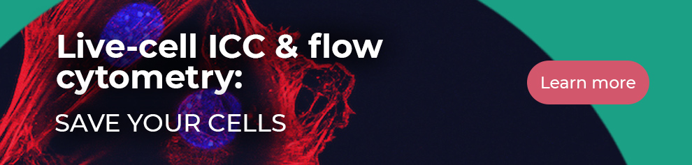 Live-cell ICC & flow cytometry: Save your cells. Learn more