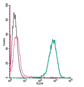 Cell surface detection of β2-Adrenergic Receptor by direct flow cytometry in live intact mouse J774 macrophage cells: