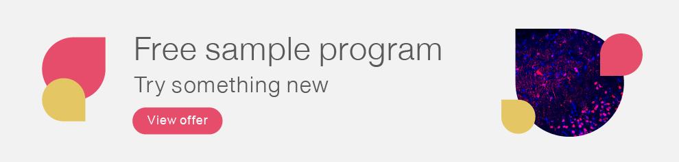 Free Sample Program Homepage Banner